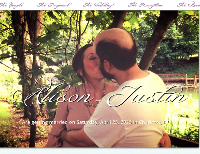 Justin and Alison